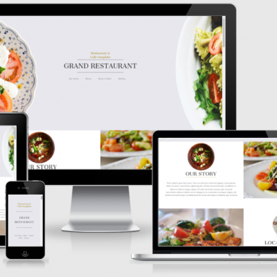 Website Design with 40 product ecommerce website
